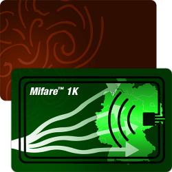 Mifare™ 1K RFID Plastikkarten