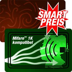 Mifare™ 1K kompatible RFID Plastikkarten