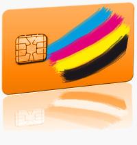 Plastikkarte Chipkarte